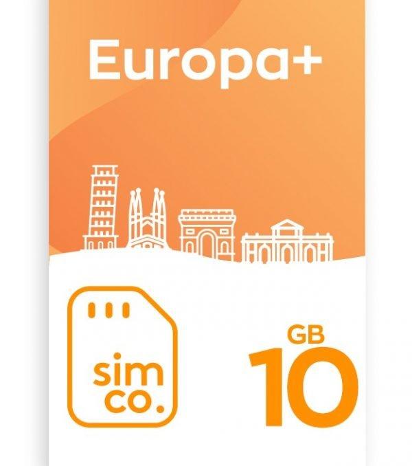 Plan Europa 10 GB