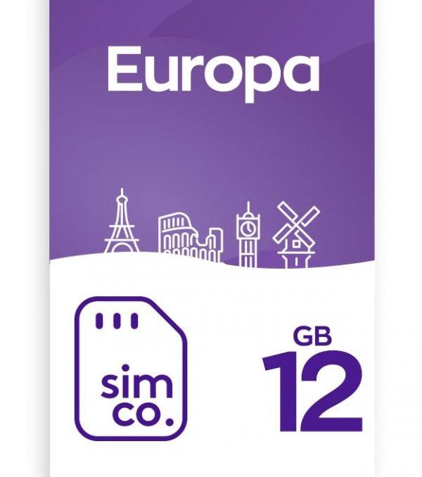 Plan Europa 12 GB